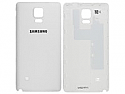 Genuine Samsung SM-N910F Galaxy Note 4 Battery Cover in White-Samsung part no: GH98-34209A (Grade A)