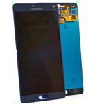 Samsung Galaxy Note 4 SM-N910F Lcd and touchpad in black - Samsung Part number: GH97-16565B