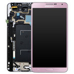 Genuine Samsung SM-N9005 Galaxy Note 3 Complete Lcd with Digitizer Touchscreen in Pink-Samsung part no: GH97-15209C