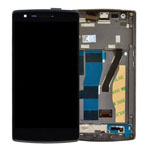 OnePlus One Complete LCD and Digitizer with Frame Assembly
