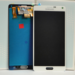 Samsung Galaxy Note 4 SM-N910F Lcd and touchpad in white - Samsung Part number: GH97-16565A