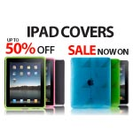 A3 Poster advertising Ipad Covers for shop window/display