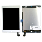 iPad Air 2 Complete lcd with touchpad assembly in White - Complete lcd unit with touchpad