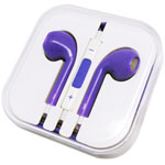 iPhone 5 Colourful Handsfree in Purple