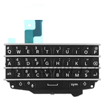 Blackberry Q10 Keypad With Keypad board flex in Black