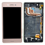 Genuine Sony (F8131)/ Xperia X Performance/X Dual Performance (F8132) Complete Lcd with Digitiser in Rose-Sony part no: 1302-3696