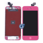 iPhone 5 LCD and Digitizer with Frame in Rose with Home Button
