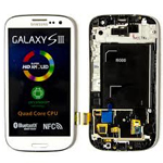 Genuine Samsung GT-I9300 Galaxy S3 complete lcd with frame and touchpad -Ceramic White GH97-13630B