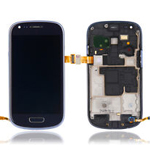 Genuine Samsung GT-I8190 S3 Mini Complete lcd and digitizer with frame in Black - GH97-14204A