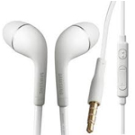 Genuine Samsung S4 White Handsfree bulk packed - EO-HS3303WE