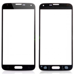 Samsung Galaxy S5 SM-G900F Front Glass Lens WIth adhesive in Black - High Quality