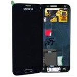 Genuine S5 Mini SM-G800F Lcd and digitizer in Black - Part no: GH97-16147A
