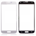 Samsung Galaxy S5 SM-G900F Front Glass Lens WIth adhesive in White - High Quality