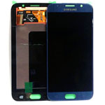 Genuine Samsung Galaxy S6 (G920F) Lcd and digitizer in Sapphire blue/ black - Part number: GH97-17260A