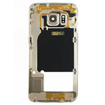 Samsung Galaxy S6 Edge SM-G925F Rear Chassis with Loudspeaker and Side Buttons in Gold