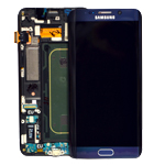 Genuine Samsung SM-G928F Galaxy S6 Edge Plus lcd with touchpad/frame in Black- part no: GH97-17819B