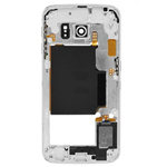 Samsung Galaxy S6 Edge SM-G925F Rear Chassis with Loudspeaker and Side Buttons in Grey