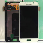 Genuine Samsung Galaxy S6 (G920F) Lcd and digitiser in White - Part number: GH97-17260B