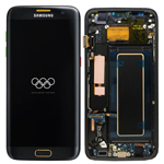 Genuine Samsung Galaxy S7 Edge (SM-G935F) Complete lcd and touchpad with frame in Olympic Edition  P/N: GH97-19194A