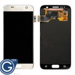Genuine Samsung Galaxy S7 G930F lcd and touchpad in Gold - Part number: GH97-18523C