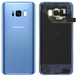 Genuine Samsung Galaxy S8 (SM-G950F) Battery Cover in Blue - Part no: GH82-13962D