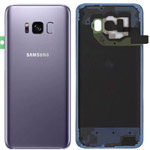 Genuine Samsung SM-G950 Galaxy S8 Battery Cover - Orchid Grey - Part no: GH82-13962C