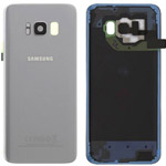 Genuine Samsung Galaxy S8 (SM-G950F) Battery Cover in Artic Silver - Part no: GH82-13962B