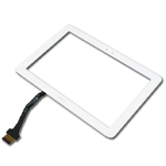 Samsung Galaxy Tab 8.9 P7300 Digitizer touchpad in White