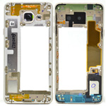Genuine Samsung Galaxy A3 2016 A310F Gold Chassis / Middle Cover - Part no: GH96-09938A