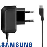 Genuine Samsung Euro 2 Pin  ETA3U30EBE Travel Charger Micro USB - Gear 2, GALAXY S3 I9300, S2 I9100, ACE S5830
