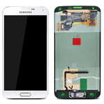 Genuine Samsung Galaxy S5 SM-G900F Lcd and touchpad in White - GH97-15959A