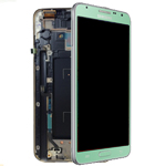 Genuine Samsung SM-N7505 Galaxy Note 3 Neo Complete lcd and digitizer with frame in Green - Samsung part number: GH97-15540C