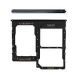 Genuine Samsung Galaxy SM-A315F Galaxy A31 Sim card holder, Memory card Holder in black - Part no: GH98-45432A