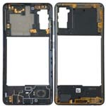Genuine Samsung Galaxy A41 (SM-A415F) Middle cover prism crush black- Part no: GH98-45511A
