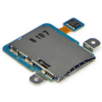 Genuine Samsung GT-P7300 Galaxy Tab 8.9 Sim Card Reader Flex-Samsung part no: GH96-05224A