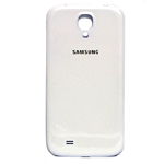 Genuine Samsung GT-I9500 Galaxy S4 Battery Cover (White)- Samsung part no: GH98-27423A