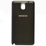 Genuine Samsung SM-N9005 Galaxy Note 3 Battery Cover in Black- Samsung part no: GH98-29019A