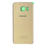 Genuine Samsung SM-G925F Galaxy S6 Edge Battery Cover in Gold- Samsung part no:GH82-09602C