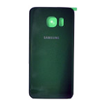 Genuine Samsung SM-G925F Galaxy S6 Edge Battery Cover in Green- Samsung part no:GH82-09602E
