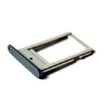 Genuine Samsung SM-G925F Galaxy S6 Edge Sim Card Tray in Dark Grey/Black- Samsung part no: GH98-35872A