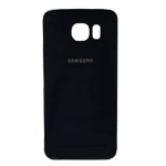 Genuine Samsung SM-G920F Galaxy S6 Battery Cover in Black- Samsung part no: GH82-09825A	,GH82-09549A