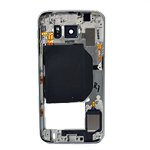 Genuine  Samsung SM-G920F Galaxy S6 Rear Chassis with Loudspeaker and Side Button in White- Samsung part no: GH96-08583B