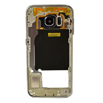 Genuine Samsung SM-G925F Galaxy S6 Edge Rear Chassis with Loudspeaker and Side Button in Blue