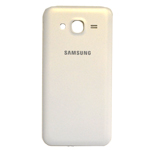 Genuine Samsung SM-J500F Galaxy J5 Battery Cover in White-Samsung part no:GH98-37588A