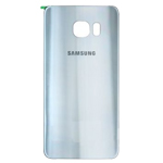 Genuine Samsung SM-G928F Galaxy S6 Edge Plus Battery Cover in Silver-Samsung part no: GH82-10336D