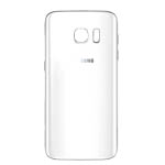 Genuine Samsung SM-G930F Galaxy S7 Battery Cover in White-Samsung part no: GH82-11384D
