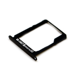 Genuine Samsung SM-A500F/DS Galaxy A5 Duos Sim Card Tray f. Sim 2 + SD in Black