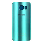 Genuine Samsung SM-G920F Galaxy S6 Battery Cover in Blue-Samsung part no: GH82-09548D