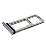 Genuine Samsung SM-N930F Galaxy Note 7 Sim / SD Card Tray in Silver-Samsung part no: GH98-40239B