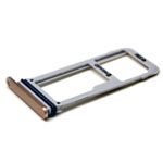 Genuine Samsung SM-N930F Galaxy Note 7 SIM Tray Single in Gold/ Blue-Samsung part no: GH98-40239F